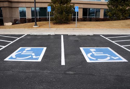 towing enforcement handicap